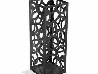VERSA - porte parapluie design noir circle - Porte Parapluies