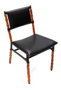 Tassin - chaise bambou - Restauration Mobilier