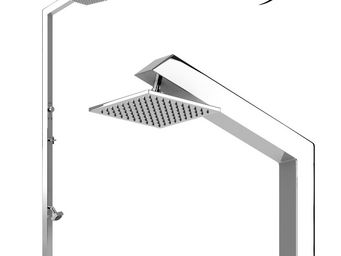 INOXSTYLE - tecno cube ml stylo - Douche D'ext�rieur