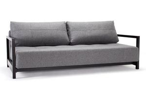 INNOVATION - innovation canape bifrost deluxe gris graphite con - Canapé Lit