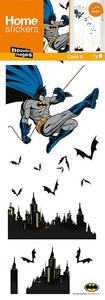 Nouvelles Images - sticker fenêtre batman - Sticker Décor Adhésif Enfant