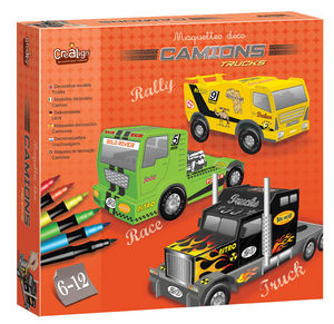 Crea Lign' - maquette déco camions - Maquette De Voiture