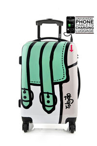 MICE WEEKEND AND TOKYOTO LUGGAGE - twisted bag - Valise � Roulettes