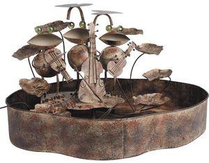 Aubry-Gaspard - fontaine grenouille - Fontaine D'intérieur