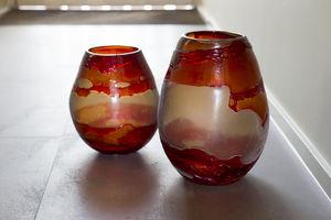 Rasteli - rouge vif - Vase Décoratif