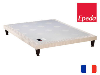 EPEDA - sommier extra plat epeda 3 zones confort medium - Sommier Extra Plat
