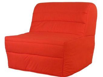 WHITE LABEL - fauteuil-lit bz matelas hr 90 cm - elia n°2 - l 91 - Banquette Bz