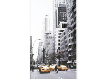 WHITE LABEL - meuble à chaussures à rideau blanc - shoes n°4 - l - Meuble À Chaussures