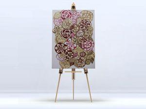 la Magie dans l'Image - toile jardin d'automne - Impression Numérique Sur Toile