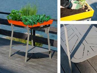 UP&GREEN - le jardin de poche - Jardinière Urbaine