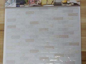 BEAUSTILE - brick blanc - Mosaique Adhésive