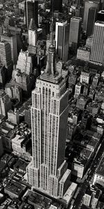 Nouvelles Images - affiche empire state building new york 1978 - Affiche
