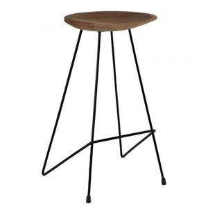 Mathi Design - tabouret de bar safari - Tabouret De Bar