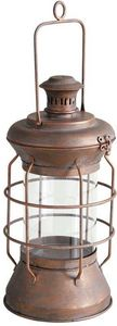 Aubry-Gaspard - lanterne de marin en métal cuivré - Lanterne D'extérieur