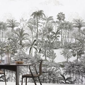 ISIDORE LEROY - amazone panthère - Papier Peint Panoramique