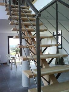 HALLOU ESCALIERS -  - Escalier Droit