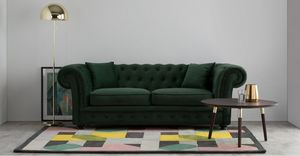 MADE -  - Canapé Chesterfield