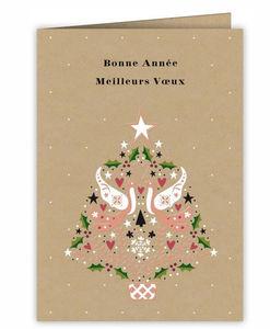 Acte tre - bonne année - Carte De Noël