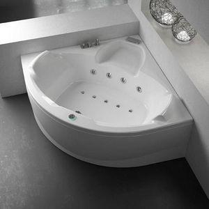Grandform - bain evo 140x140 pool hydromassage - taps: avec robinet avec cascade - Baignoire Balnéo