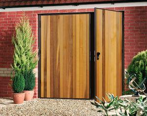 Doorfit Products -  - Porte De Garage Battante