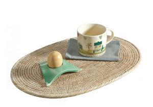 ROTIN ET OSIER - ovale marine - Set De Table