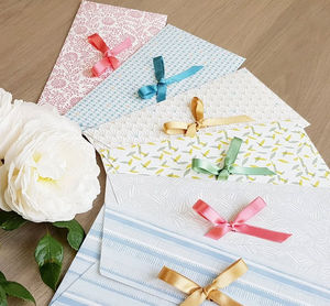 LES BELLES MUSETTES - lot de 6 maud - Enveloppe Cadeau