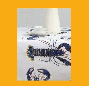 Le Minor - homard bleu - Nappe Rectangulaire