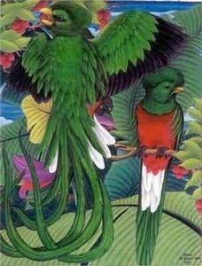 Beyond Batik - birds of paradise - Batik