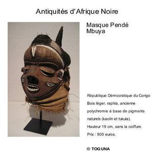 Galerie Toguna -  - Masque Africain