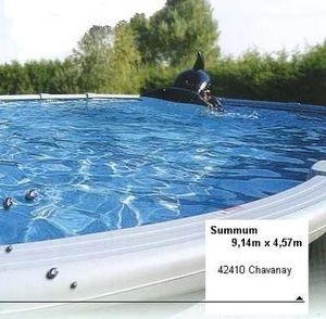 Blue Marlin - kit summum - Piscine En Kit