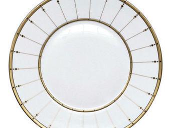 Haviland - tambour blanc - Assiette De Pr�sentation