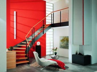 Cr�ateurs d'Escaliers Treppenmeister - loft - escalier 1/4-tournant - Escalier Un Quart Tournant
