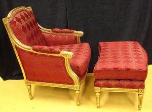 LP Furniture -  - Fauteuil Et Pouf