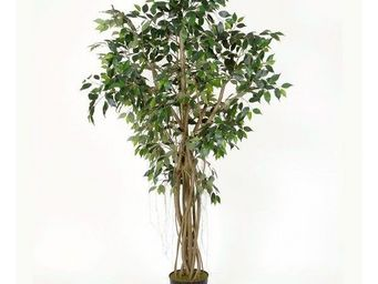 Deco Factory - ficus artificiel royal en pot - Arbre Artificiel