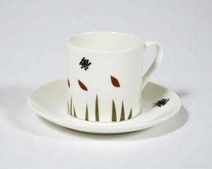 NADIA SPARHAM - windy day espresso cup and saucer - Tasse À Café