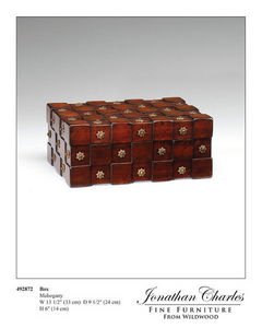 Jonathan Charles Fine Furniture -  - Table Basse Rectangulaire