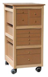 Auboi - colonne de tiroirs - Rangement Mobile