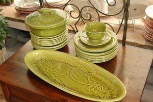 Antiquites Decoration Maurin -  - Service � Crustac�s