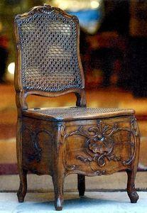 Antiquités Lachaux -  - Chaise De Commodités