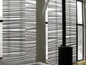 Lily Latifi - pliss� - Panneau Japonais