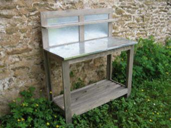 BARCLER - table jardinage a dossier - Table De Rempotage