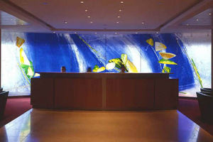 Andrew Moor Associates - baker mckenzie reception - Décoration Murale