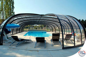 Telescopic Pool Enclosures -  - Abri De Piscine Haut Coulissant Ou Télescopique