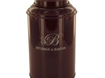 Betjeman & Barton - métal marron - Boite À Thé