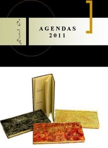 Listel Or -  - Agenda De Bureau