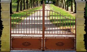 Cadiou Industrie - tr�gunc - Portail De Jardin
