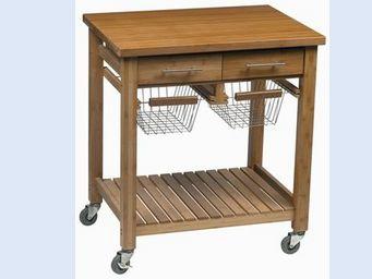 La Boutique Cadeaux -  - Table Roulante De Jardin