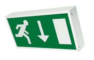 Eterna Lighting - exitboxm1l - box sign emergency light - Signalétique Lumineuse