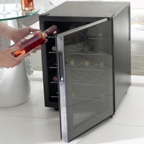 John Corby - the brevanti obsidian 20 bottle wine cooler - Armoire À Vin