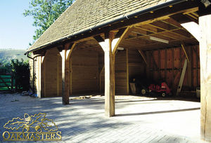 Oakmasters - oak garage - Abri De Voiture Carport